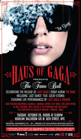 File:10-28-08 The Fame Ball release party poster.jpg