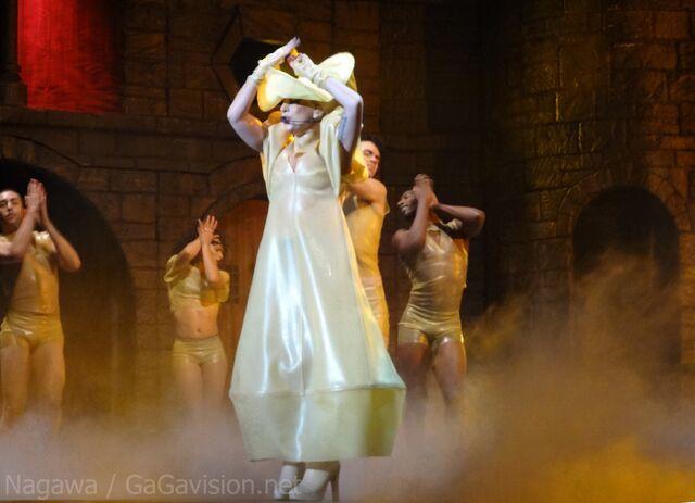 File:The Born This Way Ball Tour Black Jesus Amen Fashion 011.jpg