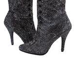 Black pave' boots