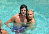 7-27-10 Hotel poolside in Texas