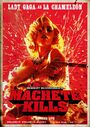 Machete Kills UK La Chameleón Poster 002
