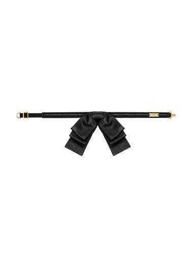 File:YSL - Leather bow collar.jpeg