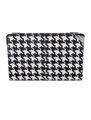 Salvatore Ferragamo Fall 2011 Houndstooth Print Clutch