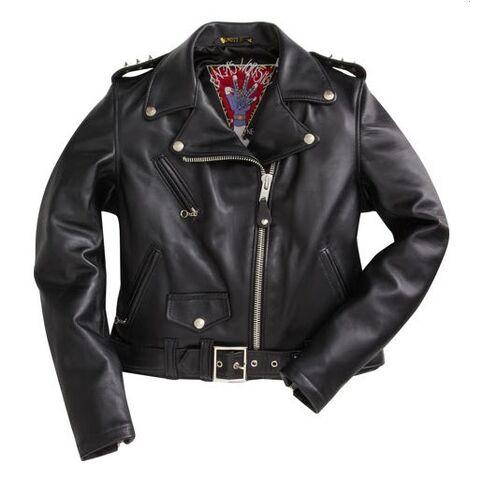 File:Gaga's Workshop Women's Classic Motorcycle Jacket.jpg