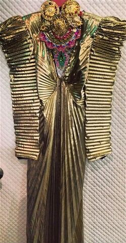 File:Dog - Gold dress.jpg