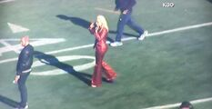 2-5-16 Rehearsal at Levi's Stadium in Santa Clara 001