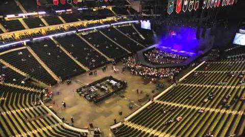 Born This Way Ball Stage Build Time Lapse