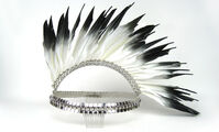 Erickson Beamon - Feather Mohawk headpiece