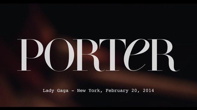 Behind the Scenes of Porter Magazine 2014 Photoshoot