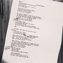 Million Reasons Lyric Instagram 5 10 2016