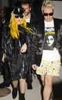 12-30-09 Lady Gaga and Perez Hilton at Nobu Restaurant 01