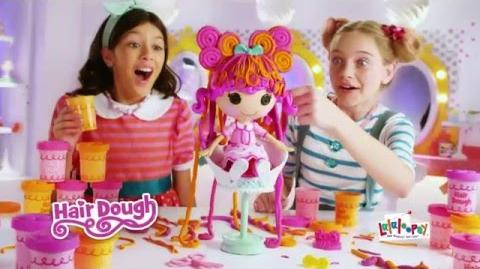Lalaloopsy Hair Dough 30 Commercial