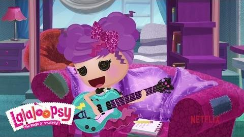Storm E. Sky Rocks Out with Friends We're Lalaloopsy