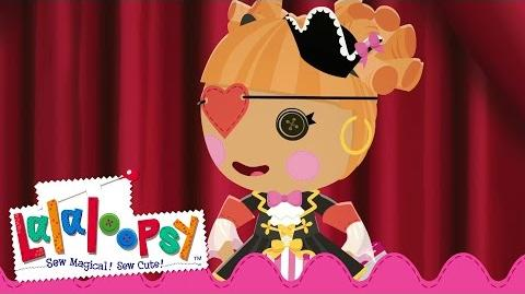 Peggy Seven Seas Sewn On Date Lalaloopsy