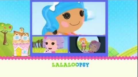 Adventures in Lalaloopsy Land The Search for Pillow DVD Sing-a-Long
