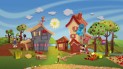 Sunny and Berry's farm