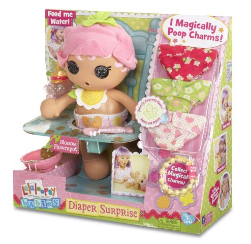 File:Blossom Flowerpot doll - Babies (Diaper Surprise) - box sideview.jpg