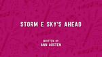 Storm E. Sky's Ahead