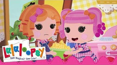 Sunny Side Up and Berry Jars 'N' Jam Sewn On Date Lalaloopsy