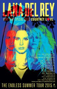 Endless Summer Tour Courtney-Love