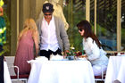 Out for lunch with Francesco Carrozzini and Franca Sozzani in Stresa2C Italy 28August 229 281129