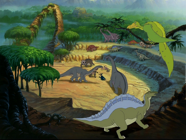 File:Ouranosaurus and Archaeopteryx.png