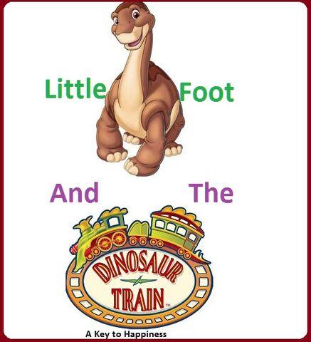 File:Littlefoot and the Dinosaur Train logo.jpg