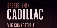 Cadillac V16 Convertible