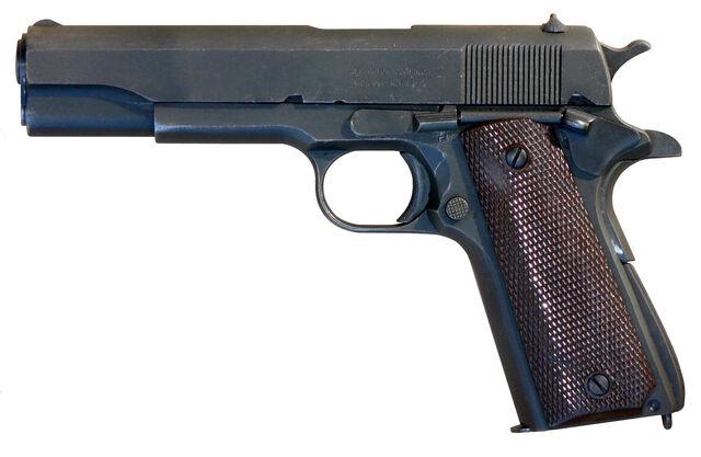 File:M1911 A1 pistol.jpg