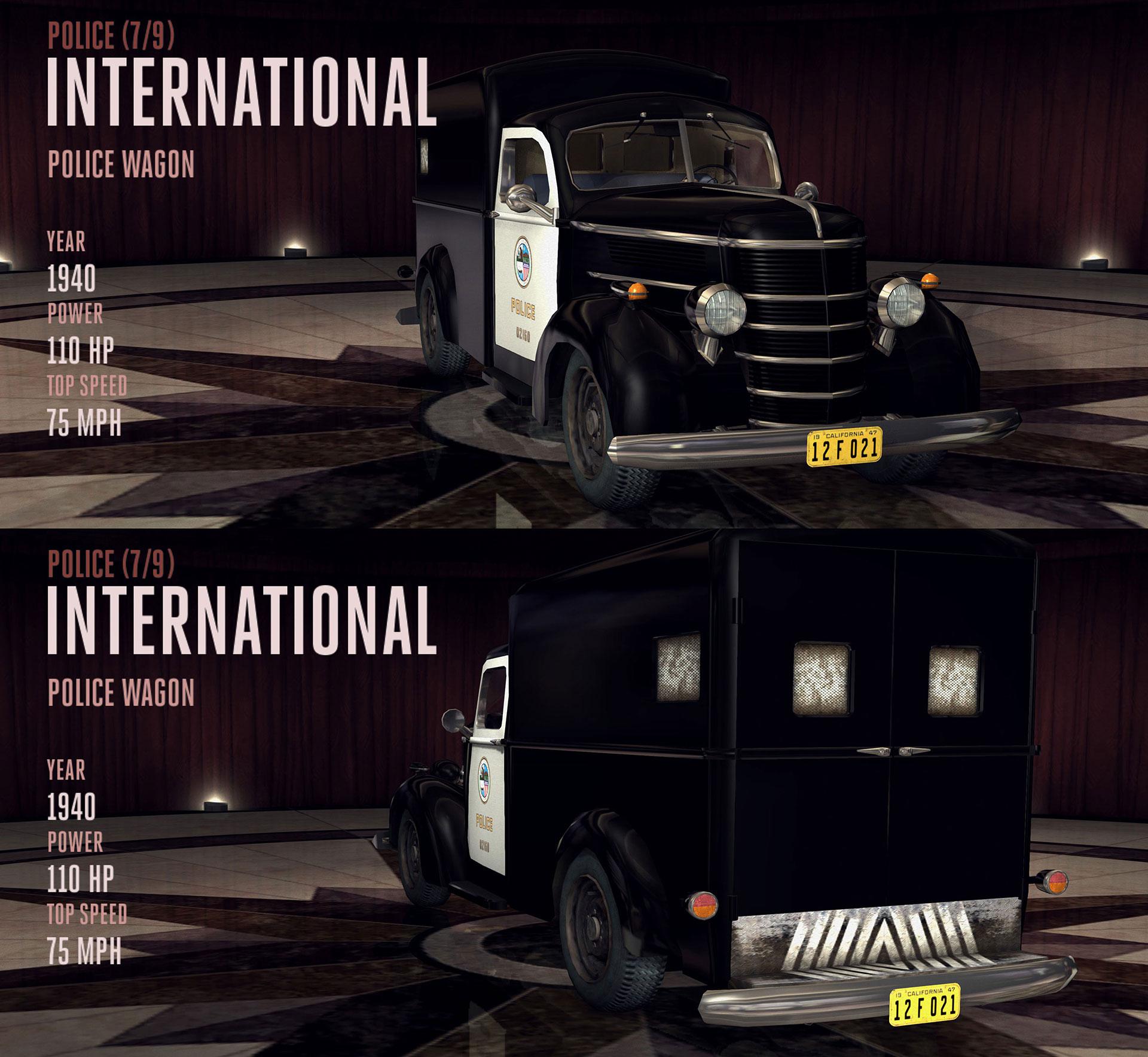 International Police Wagon