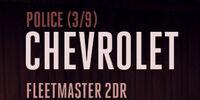 Chevrolet Fleetmaster 2DR (Policía)