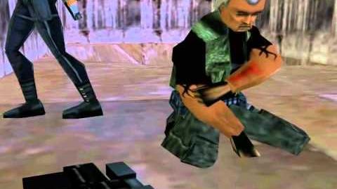 Tomb Raider 3 cutscene Thames Wharf