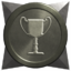 Generic anniversary silver trophy