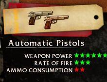 Automatic Pistols GOL