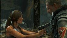 Lara threatens Konstantin