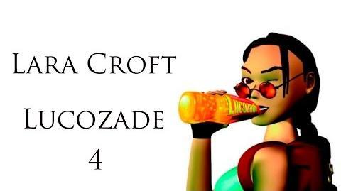 Lara Croft Lucozade Commercial 04