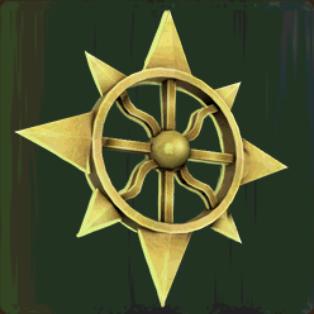 Gold Emblem of Utu