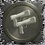 Pistols silver trophy