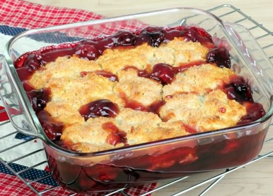 Cherry Cobbler | Laura in the kitchen Wiki | Fandom powered by Wikia