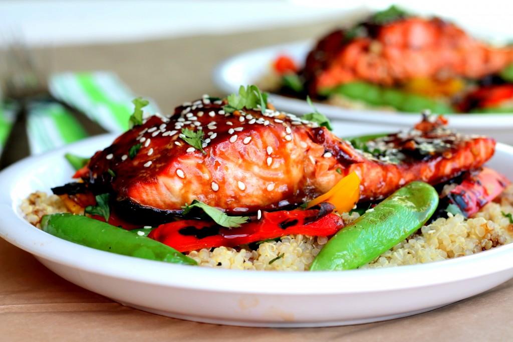 Teriyaki Salmon | Laura in the kitchen Wiki | Fandom powered by Wikia