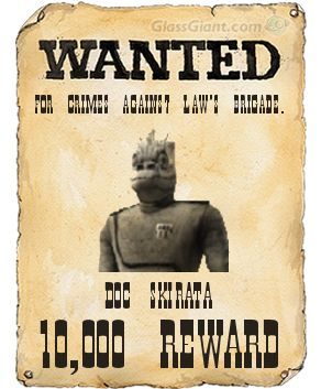 Doc Skirata's Wanted Poster