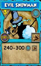 Evil Snowman (Spell)