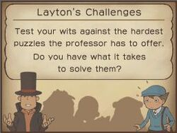 Professor layton decorators house
