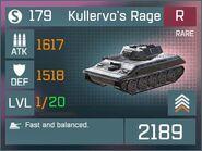 Kullervo's Rage R Lv1 Front
