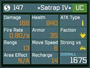Satrap IV UC Lv1 Back