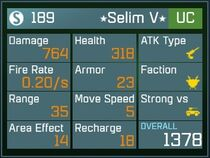 Selim V UC Lv1 Back