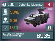 Dybenko Liberator R Lv1 Front