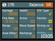 Sejanus SR Lv1 Back
