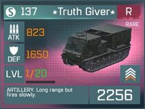 Truth Giver Rare Lvl1 Front