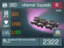Kemal Squad R Lv1 Front
